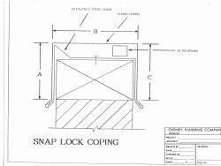 Snap Lock Coping